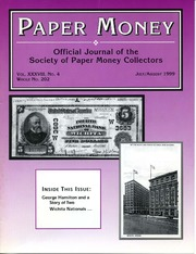 Paper Money (July/August 1999)
