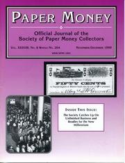 Paper Money (November/December 1999)