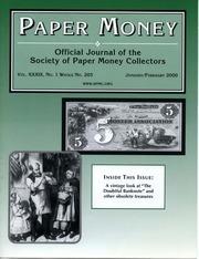 Paper Money (January/February 2000)