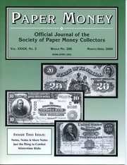 Paper Money (March/April 2000)
