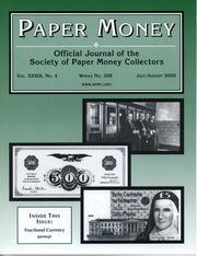 Paper Money (July/August 2000)