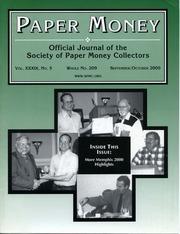Paper Money (September/October 2000)