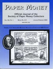 Paper Money (January/February 2002)
