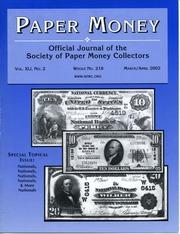 Paper Money (March/April 2002)