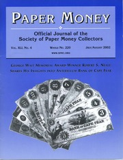 Paper Money (July/August 2002)