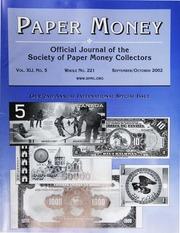 Paper Money (September/October 2002)