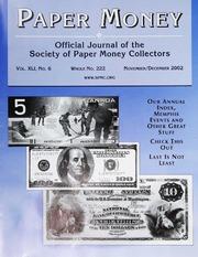 Paper Money (November/December 2002)