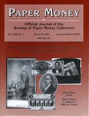 Paper Money (January/February 2003)