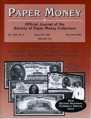Paper Money (May/June 2003)