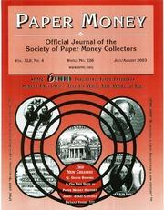 Paper Money (July/August 2003)