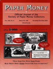 Paper Money (November/December 2003)