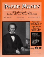 Paper Money (January/February 2004)