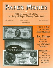 Paper Money (May/June 2004)
