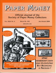 Paper Money (July/August 2004)