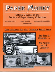 Paper Money (September/October 2004)