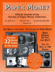Paper Money (November/December 2004)