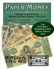 Paper Money (January/February 2005)