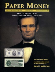 Paper Money (September/October 2006)