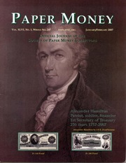 Paper Money (January/February 2007)