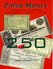 Paper Money (July/August 2007)