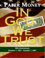 Paper Money (September/October 2007)