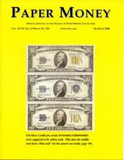 Paper Money (May/June 2008)