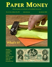 Paper Money (July/August 2011)