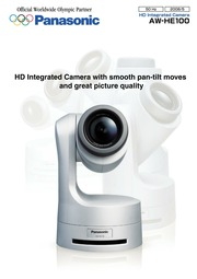 Panasonic Aw He100 Security Camera User Manual Panasonic border=