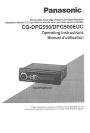 Panasonic_CQ DPG550_CD_Player_User_Manual panasonic cq dfx883u car stereo system user manual panasonic panasonic cq-hr1003u wiring diagram at cos-gaming.co