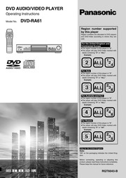 panasonic s27 dvd player manual