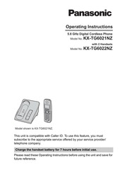 Panasonic kx-tg5771 user