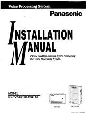 Kx tes824 User Manual