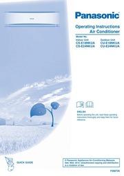 Air conditioner manual service panasonic pdf