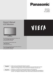 panasonic viera tv user manual