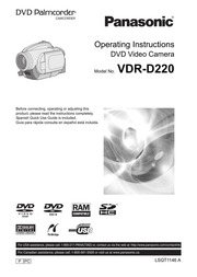The archive manual library free texts free download borrow panasonic vdr d220 camcorder user manual fandeluxe Gallery