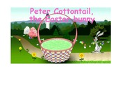 Peter Cottontail, the easter bunny