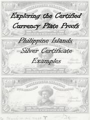Philippine Islands Silver Certificates Plate Proof Examples