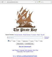 the pirate bay tor url