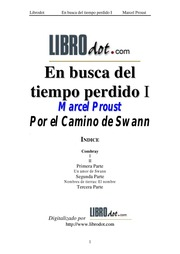 Por el camino de swann marcel proust free download for Por el camino de swann