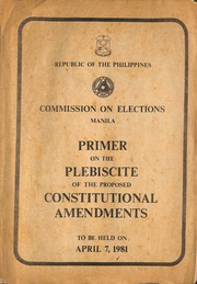 constitutional commission of the philippines Books by philippines constitutional commission of 1986, journal of the constitutional commission, record of the constitutional commission.