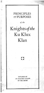 """the klan s fight for americanism Nationalism (or """"100% americanism""""), protestant christianity, and white supremacy became inextricably linked in these material objects faith almost solid for the klan and its ideals, with here and there an isolated minister who will line up with the catholics in their fight on protestantism, but that kind of."""