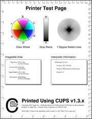 printer test page color free download borrow and streaming