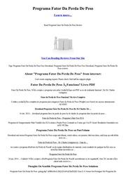 Receitas de produtos protéicos de perda de peso