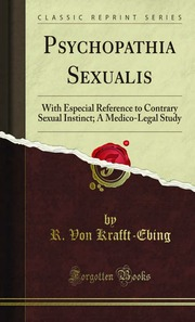 Psychopathia sexualis ebook