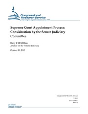 presidential appointment analysis Presidents generally appoint judges who share the president's philosophy about  how the law  president george w bush appointed 31% of the active federal  appellate judges, and  aclj case analysis of judge gorsuch.