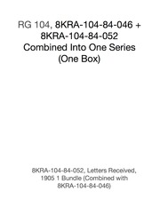 8KRA-104-84-052, Letters Received, 1905 (1 Bundle). Combined with 8KRA-104-84-046.