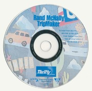 Rand Mcnally Tripmaker >> Thrifty Rand Mcnally Trip Maker 1999 Rand Mcnally Company