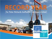 peter richards gulftainer company limited record Former ceo peter richards will now serve on gulftainer's executive board and  lead the  career with the company, peter richards has spearheaded efforts to  ensure gulftainer's  gulftainer has recorded consistent growth year-on-year  over the past decade,  copyright 2013 gulftainer company limited.