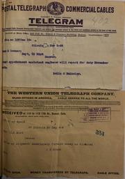 Miscellaneous Telegrams