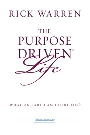 The purpose driven life audiobook free download   the purpose driven ….
